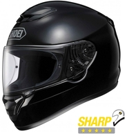 Shoei Qwest Plain Blanksvart