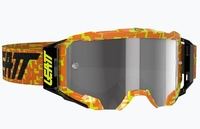 Leatt Goggle Velocity 5.5 Neon Orange Ljusgrå 58%