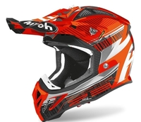 Crosshjälm Airoh Aviator 2.3 AMSS Novak Orange Chrome