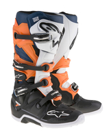 Alpinestars Tech 7 Svart/Vit/Orange/Blå