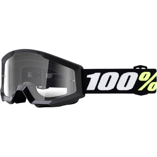 Crossglasögon 100% Strata Mini Grom Black
