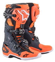Alpinestars Stövel Tech 10 Grå/Orange/Vit