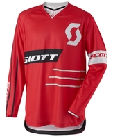 Scott 350 Dirt Jersey Red