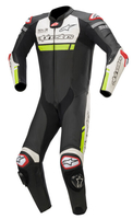 Alpinestars Skinnställ 1-pcs Missile Ignition Tech Air Sv/Vit/Gul Fluo