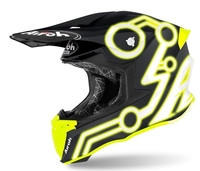 Crosshjälm Airoh Twist 2.0 Neon Yellow Matt