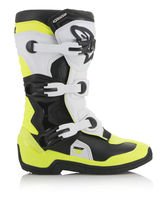 Crosstövel Junior Alpinestars Tech 3S Svart/Vit/Flou Gul