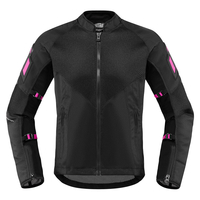Icon Women's Mesh AF™ Jacket - Black/Pink