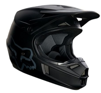 Fox Junior V1 Matte Black Helmet