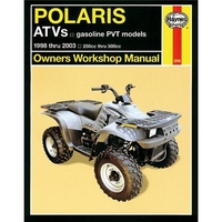 Reparationsmanual HAYNES Polaris ATVs 98-06.