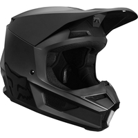 Crosshjälm Junior Fox V1 Matte Black Helmet