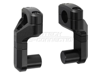 SW-Motech 22mm. Up/back variable. Black. Riser