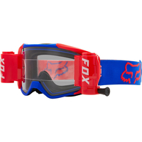 FOX VUE STRAY ROLL OFF GOGGLES Blue Red