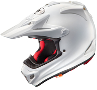 Crosshjälm Arai MX-V White
