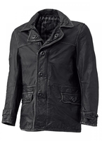 Held Tribute Retro Skinnrock Leather Coat