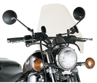 Givi Universal screen with 2 point handlebar, smoked