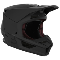 Crosshjälm FOX V1 Matte Black Helmet