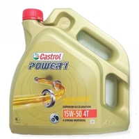 Castrol Power 1 4T 15W-50 (GPS 4 L)