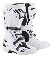 Crosstövel Alpinestars Tech 10 Vit