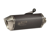Avgassystem Slipon Dark Style Spark BMW R1200GS/Adventure 10-12