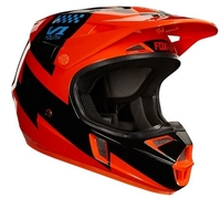 Fox Junior V1 Mastar Helmet Orange