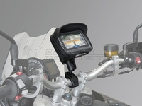 Universal GPS Kit. Incl. NAVi Bag M. For handlebar Ø 22, 28 mm & 1