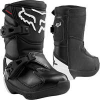 Crosstövel Junior Fox Kids Comp Boots BLACK
