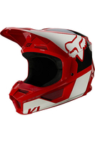 FOX V1 REVN HELMET FLAME RED