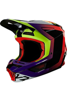 FOX V2 VOKE HELMET BLACK PURPLE