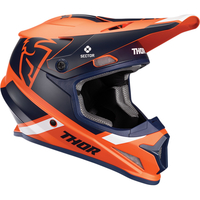 THOR SECTOR SPLIT ORANGE/NAVY MIPS HELMET