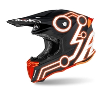 Crosshjälm Airoh Twist 2.0 Neon Orange Matt